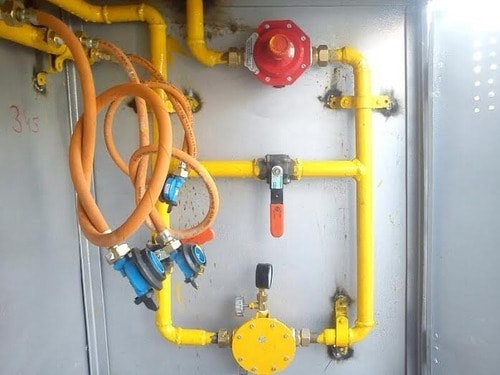 gas pipe line fitting in jaipur